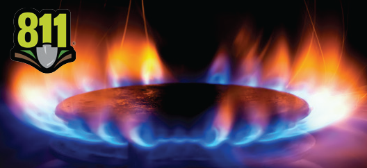 image of natural gas stovetop fire
