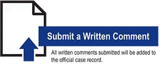submit written comment